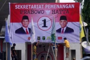 Gerindra Jateng Usut Perusakan Baliho Prabowo-Hatta
