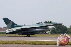 KSAU nyatakan Terbakarnya Pesawat F-16 tidak Ganggu Pengamanan KAA