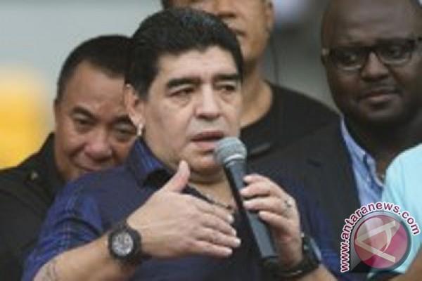 Maradona: Penunjukan Sampaoli sebagai Pelatih Timnas Tadak Lebih Baik dari Bauza