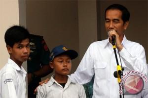 Presiden Berharap Adanya Bantuan Pendidikan, tidak ada Anak Putus Sekolah