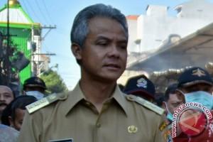 Ganjar Lantik Lima Penjabat Sementara Kepala Daerah