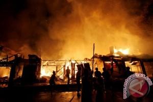 Empat Gerai Pameran Temanggung Fair Ludes Terbakar