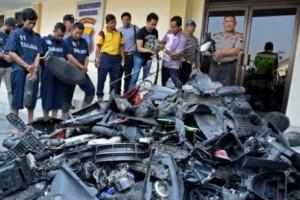 Pencurian Sepeda Motor Dominasi Kriminalitas Kota Semarang