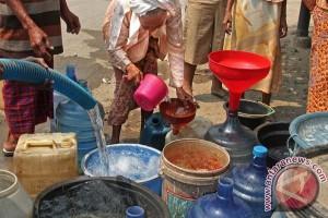 Pemprov Salurkan Bantuan Air Bersih