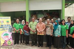 Produk Bank Sampah Tembus Pasar Luar Daerah