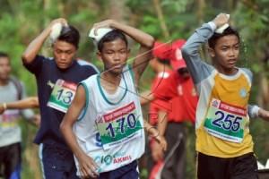 Peserta Borobudur Maraton mulai ambil