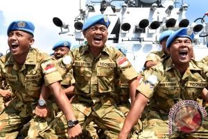 Menhan Ryamizard Ryacudu Kunjungi Prajurit TNI di Lebanon