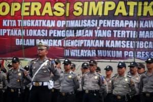 Operasi Simpatik Candi Libatkan 2.245 Personel