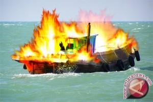 Kapal Terbakar di Jepara Belum Kantongi Izin