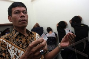 Narkoba, Koordinator Pemandu Karaoke KyuKyu Diciduk