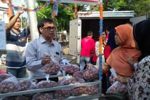 Stabilkan Harga Bawang Merah, Bulog Gelar Operasi Pasar