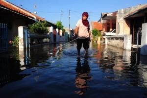 Ratusan Rumah di Cilacap Terendam Banjir Rob