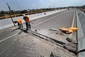 Bupati Pekalongan Pastikan Jembatan Spait Siap Dilalui
