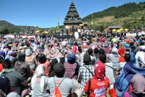 Festival Dieng Bisa Tarik Wisatawan Mancanegara