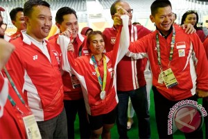 Olimpiade 2016, Medali Perak Hadiah Ulang Tahun Sri Wahyuni