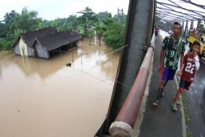 Musim Hujan, Pantauan Tinggi Air Bengawan Solo Diintensifkan