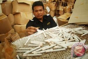 KPPBC Pekalongan Sita 2.899 Batang Rokok Ilegal