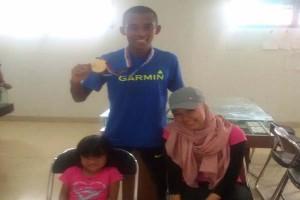 Agus Prayogo Ikuti Borobudur Maraton 2016