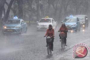 Sebagian wilayah Jateng masih berpotensi hujan lebat