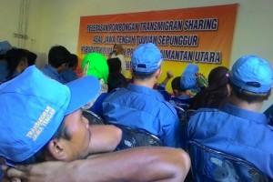 100 Keluarga Asal Jateng Transmigrasi ke Kalimantan