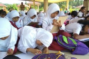 Seribu Anak Purbalingga Menulis Surat untuk Presiden