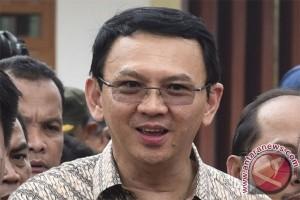 Gubernur DKI Ahok Hadiri Peringatan Hari Santri