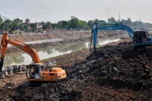 Normalisasi Sungai Banjir Kanal Timur Dua Tahap