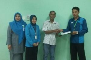 BPJS Ketenagakerjaan Serahkan Santunan ke Perawat RSI Sultan Agung