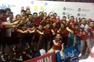 Djarum Juara Kejurnas dengan Kalahkan Jaya Raya