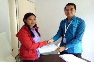BPJS Ketenagakerjaan Serahkan Klaim Karyawan Tekstil