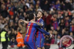 Barcelona Lumat Hercules 7-0 pada Piala Raja Spanyol