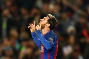 Messi Bergabung dengan Klub Gol ke-100 di Liga Champions