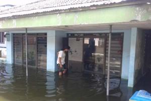 Tanggul Jebol, Puluhan Rumah di Grobogan Tergenang Banjir