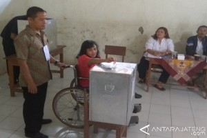 KPU Jateng siapkan TPS ramah difabel