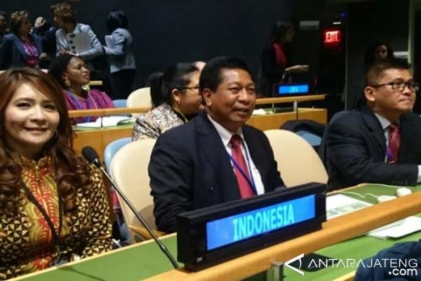 Wali Kota Bicara Sukses Pemberdayaan Perempuan di PBB