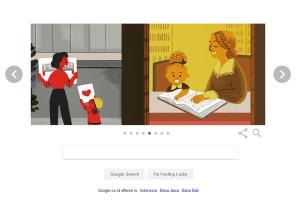 13 Perempuan Hebat pada Google Doodle Edisi Hari Perempuan Internasional