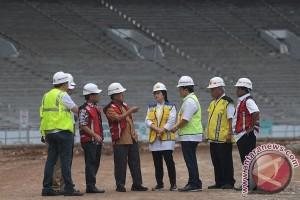 Wapres: Pembangunan Sarana Asian Games selesai 70 Persen