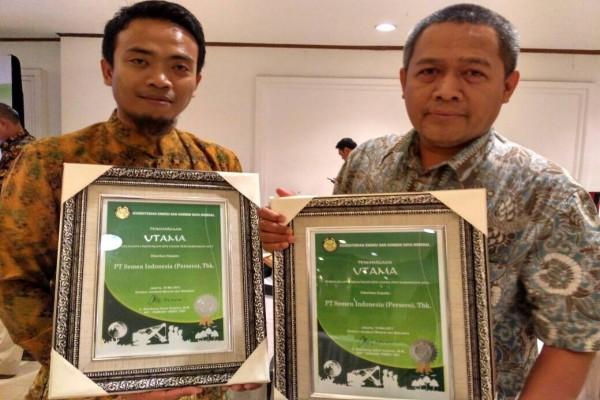 Semen Indonesia Raih Penghargaan dari Kementerian ESDM