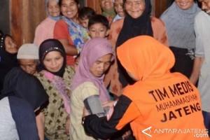 LPB Muhammadiyah Cek Kesehatan Korban Banjir Bandang Grabag