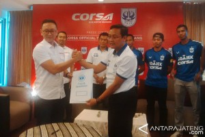Produsen Ban Corsa jadi Sponsor PSIS Semarang
