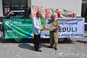 BPJS Ketenagakerjaan Bantu Korban Banjir Bandang Grabag