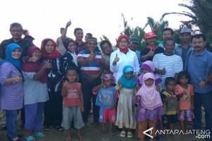 Kadisnakertrans Jateng Kunjungi Transmigran di Kalimantan Utara