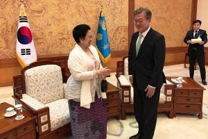 Megawati: Korsel ingin Pererat Hubungan dengan Indonesia