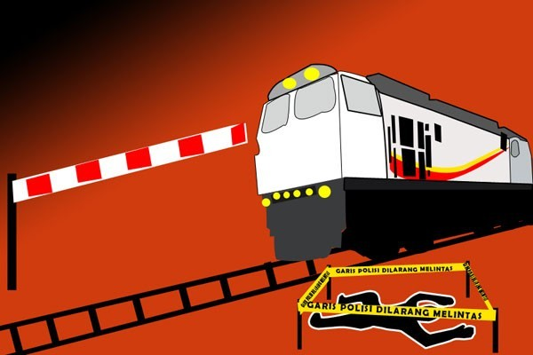 Seorang pria meninggal tertabrak Kereta Gajayana