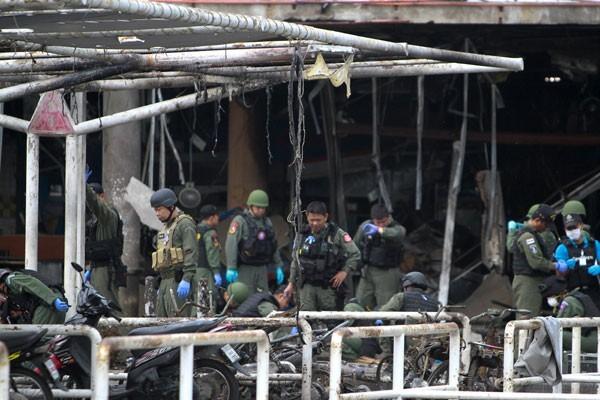Bom Jalanan Tewaskan 6 Tentara di Thailand selatan