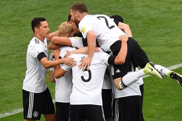 Piala Konfederasi, Jerman Tundukkan Australia 3-2