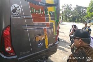 Sekda Jateng Sri Puryono Temukan Bus belum Laik Jalan