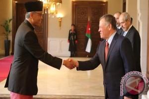 Dubes RI Serahkan Surat Kepercayaan kepada Raja Yordania