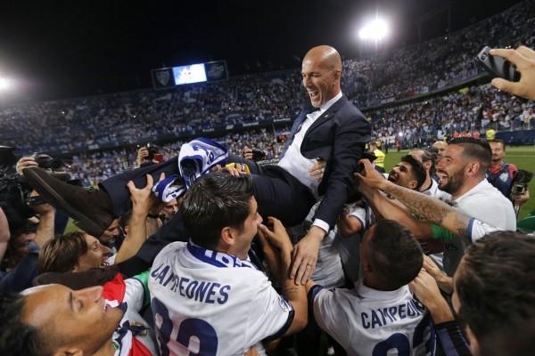 Zidane dipilih sebagai pelatih Prancis terbaik 2017