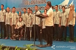 Atlet Jateng Tulang Punggung NPC Nasional